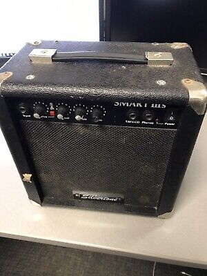 $ CDN6.54 • Buy SILVERTONE SMART IIIS Guitar AMP Black Amplifier 26 Watt