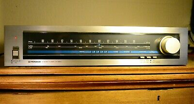 PIONEER TX-520 L Retro Vintage  Stereo FM / LW / MW Tuner Brilliant Condition • 45£