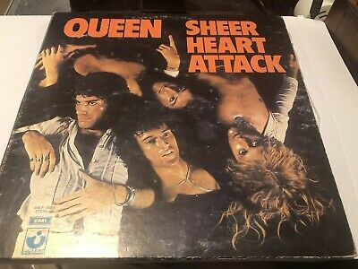 Queen Sheer Heart Attack Rare Venezuela Vinyl Lp Gatefold Sleeve Original • 19£