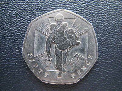 Victoria Cross Heroic Acts  50 Pence Coin 2006 • 0.99£