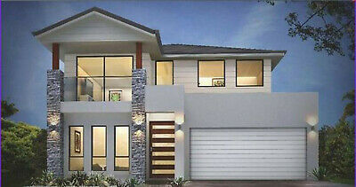 Custom House Home Building Plans 4 BedRoom & 3 BathRoom & Garage With CAD • 7.86£