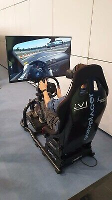 Computer Racing Driving Cockpit - Trak Racer - Home Driving Simulator  • 840£