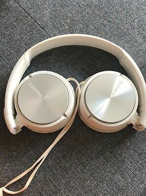 Sony MDR-ZX110 Over The Ear Standard Headphones - White • 1.60£