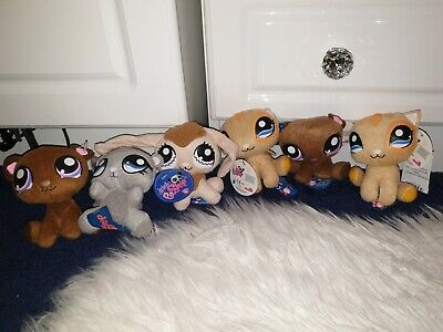 Littlest Pet Shop Bundle Plush Cute! 6 Items New With Tags Looking For A Home!  • 2£