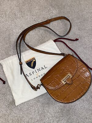 Aspinal Portobello Bag - Tan Croc • 99£
