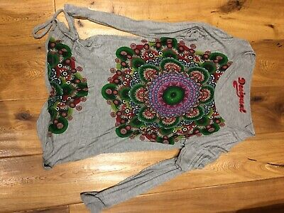 Desigual Long Sleeve Top - Size XL - Worn Once • 1.04£
