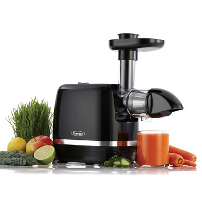 Cold Press Juicer Slow Masticating Extractor Fruit Vegetable Low Noise Level New • 121.14£
