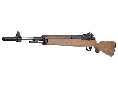 $220.99 • Buy Springfield Armory M1A Underlever Pellet Rifle Wood Stock .22 Caiber Air Rifle