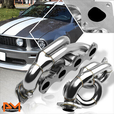$124.89 • Buy For 05-10 Ford Mustang GT/Shelby 4.6L 281 SOHC V8 Stainless Steel Exhaust Header