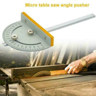 Portable T Style Angle Ruler Woodworking Table Saw Tools Smo Accurate DIY C0A5 • 4.74£