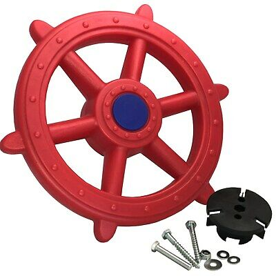 £21.59 • Buy Steering Wheel Ship XXL For Play Tower Pirate Handlebar Red New