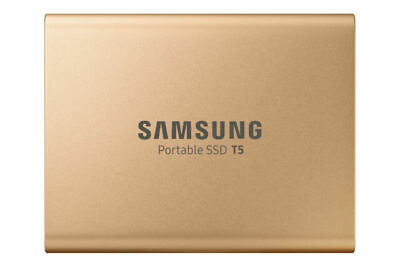 Samsung T5 1TB Portable External SSD - Gold • 47£