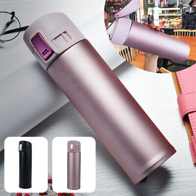 AU16.99 • Buy Vacuum Insulated Leakproof Stainless Steel Water Bottle Thermos Drink Cup Mug