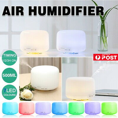 AU20.29 • Buy Air Humidifier Purifier Essential Oil Diffuser Aroma Aromatherapy Lamp LED AU