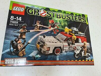 LEGO 75828 Ghostbusters Ecto-1 & 2 Building Set Brand New Sealed • 79.75£