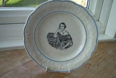 Plate For Queen Victoria Or Queen Eugenie • 35£