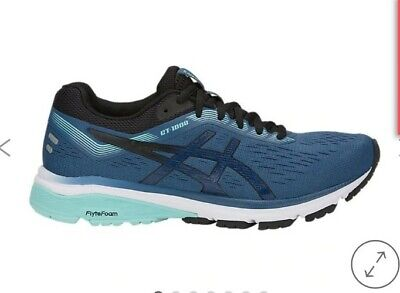 Asics GT-1000 7 Women Running Shoes Blue Trainers Size 5.5 Girl Ladies Support  • 35£