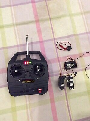 RC Radio Control Vintage Acoms Transmitter With Receiver Similar To Futaba Hitec • 20£