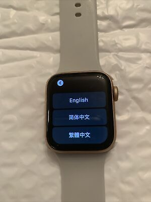 $ CDN342.26 • Buy Apple Watch Series 5 (GPS + Cellular) 42mm Rose Gold Silicone Band Read