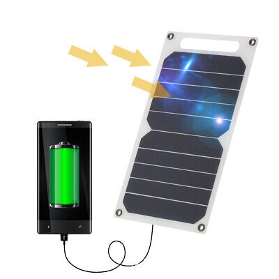 Portable 10W 5V Solar Power Charging Panel USB Charger For Samsung IPhone • 13.73£