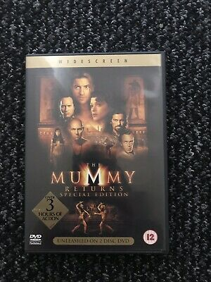 The Mummy Returns Special Edition 2 DVD Set • 1£
