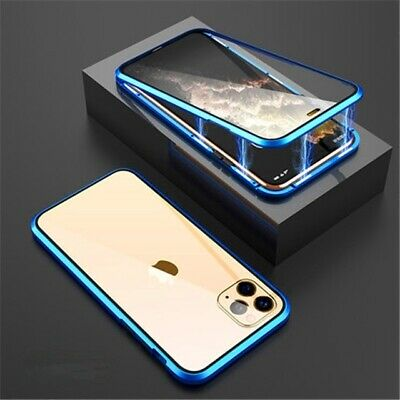 Case For IPhone 11 Pro Magnetic Tempered Glass Cover Shockproof Phone Protector • 3.99£