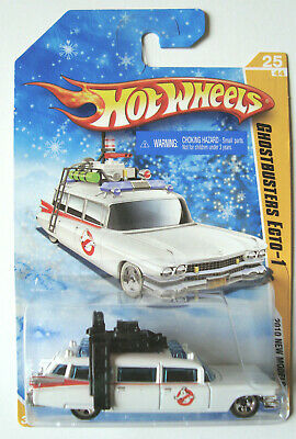 2010 Hot Wheels  Ghostbusters  Ecto-1   Snowflake  Card • 34.99£