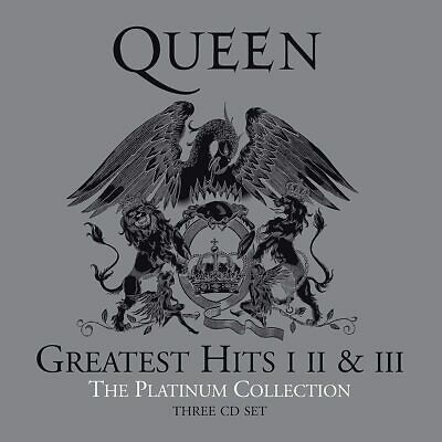 Queen The Platinum Collection Greatest Hits 1 2 & 3 New 3 CD Box Set  • 28.99£