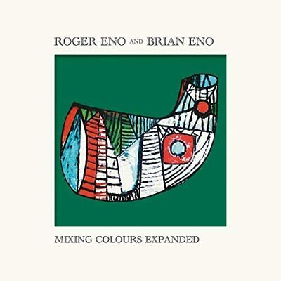 ROGER ENO And BRIAN ENO MIXING COLOURS EXPANDED 2-CD (Released 23/10/2020) • 14.97£