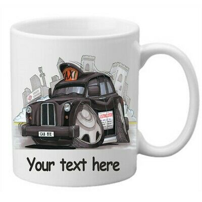 Personalised Koolart London Taxi New York Cab Mug Cup Novelty Gift Present • 9.95£