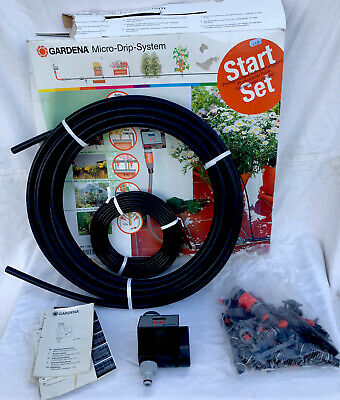 Gardena Micro Drip Watering System With Electronic Timer New Cost £75 Irrigation • 39.99£