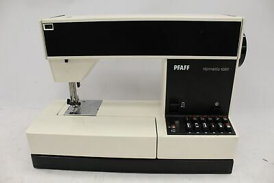 PFAFF Tipmatic 1027 Model Portable Electric Foot Pedal Sewing Machine - A27 • 26£