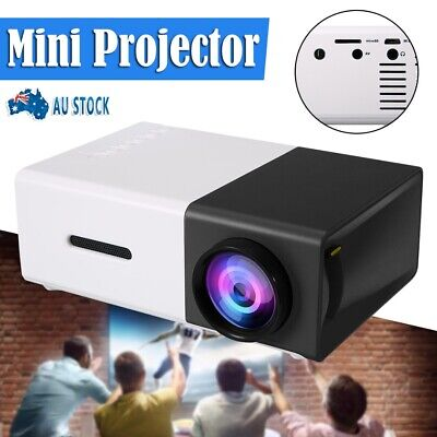 AU59.99 • Buy Hot Sale Portable Mini Projector YG300 HD LED AV USB HDMI Home Theater Cinema