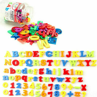 78PCS Gift Learning Toy Fridge Magnetic Numbers Alphabet Letters Magnets Xmas • 6.74£