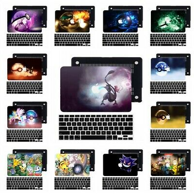 $14.45 • Buy 2in1 Pokemon GO Rubberized Hard Cut Out Matte Case Cover For New Macbook Pro Air