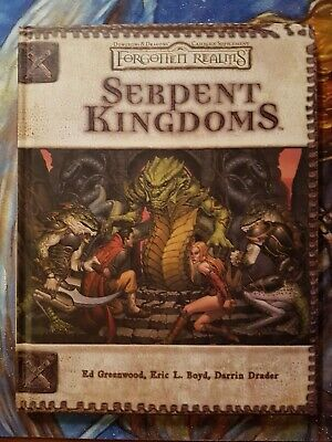 AU82 • Buy Dungeons And Dragons - Forgotten Realms: Serpent Kingdoms (D&D 3.5ed, 2004)