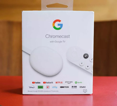 AU120.95 • Buy Google Chromecast With Google TV (Chalk) [2020] AU