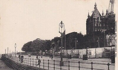 New Brighton Sea Front Postcard Unused  • 3£