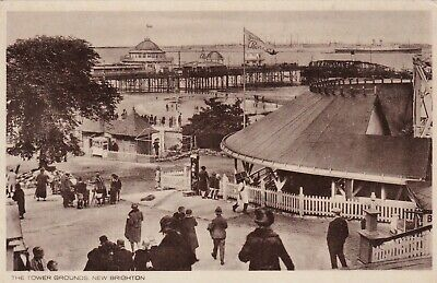 New Brighton The Tower Grounds Postcard Unused • 3£