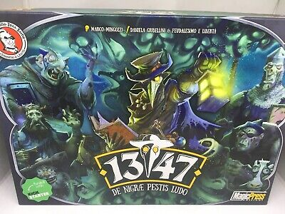 ZOMBIE THE BLACK PLAGUE BOARD GAME Exc 100% Complete Unused + Deluxe Expansion • 22£