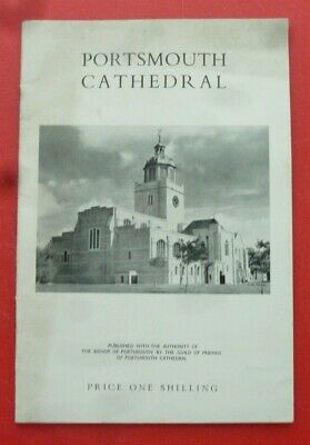 Portsmouth Cathedral Guide 1958 • 1.99£