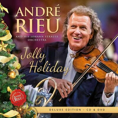 £5.89 • Buy ANDRE RIEU JOLLY HOLIDAY CD & DVD (Released November 13th 2020) IN STOCK NOW