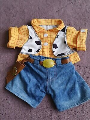 Build A Bear Work Shop Outfit Woody Toy Story • 0.99£