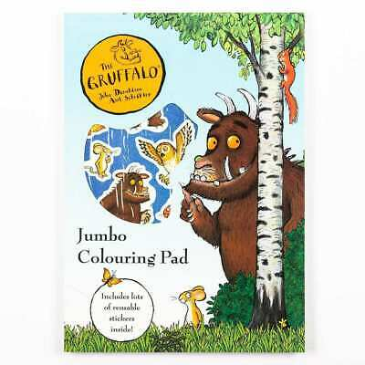 The Gruffalo & Characters JUMBO Childrens A4 Colouring Book Pad & Stickers 3185 • 4.75£