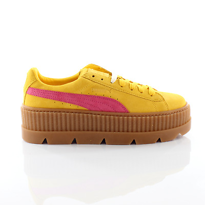 AU89.98 • Buy Puma Fenty By Rihanna Cleated Creeper Lace Up Suede Womens Trainers 366268 03