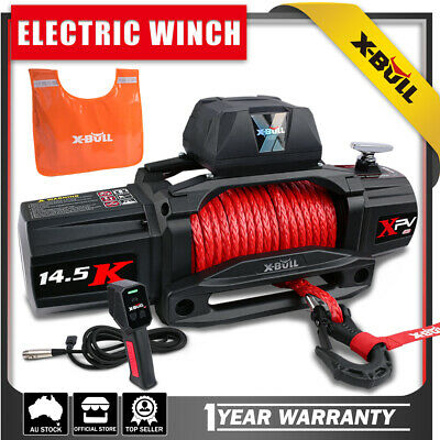 AU619 • Buy X-BULL Electric Winch 12000LB 12V Blue Recovery Tracks Gen3.0 2Pairs 10T 4WD 4x4
