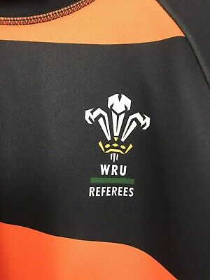 Wales WRU Under Armour Referees Rugby Shirt • 10£
