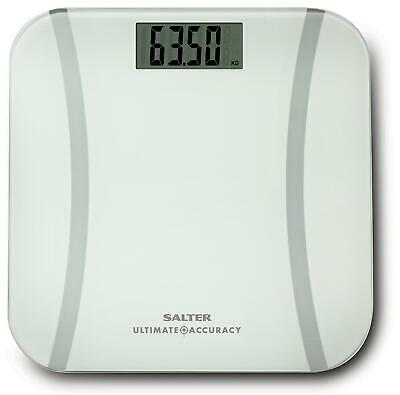 Salter Ultimate Accuracy Glass Digital Bathroom Weighing Scales - 180kg • 21.99£