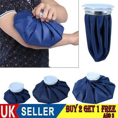 Reusable Ice Bag Pain Relief Heat Pack Sports Injury First Aid For Knee Head UK • 5.79£