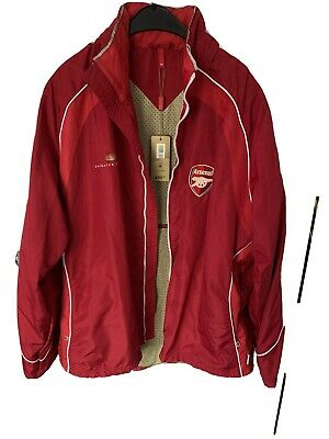 Older Arsenal Football Jacket Still With Tags Size M - Waterproof • 20£